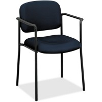 Basyx VL616 Plastic Arms Stacking Guest Chair - Various Colors