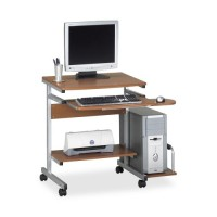Mayline PC Desk Cart, 5 Casters - Various Colors