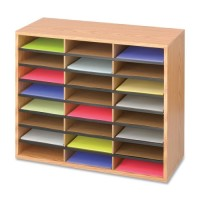 Safco Literature Organizer, Multi Compartment - Multiple options