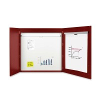 Bi-silque 2-door Cherry Conference Cabinet