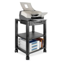 Kantek Printer/Fax Mobile Stand, Black - Multiple options