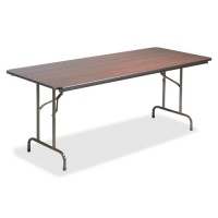 Lorell Folding Tables, Mahogany - Multiple options