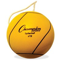 Champion Sports VTB Optic Tether Ball - Set of 5