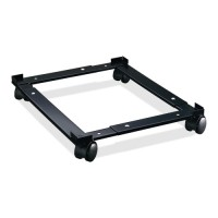 Lorell File Caddy, Adjustable, Black