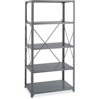 Safco Commercial Shelving Kit, 5 Shelf - Multiple options