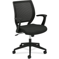 Basyx VL521 MidBack Fixed Arms Mesh Chair