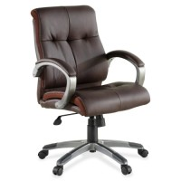 Lorell Executive Chair, Leather, LowBack - Various Colors
