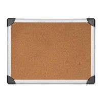 Lorell Cork Boards, Aluminum - Four Sizes