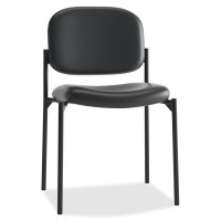 Basyx VL600 Series Leather Guest Chair w/o Arms
