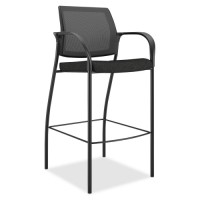 HON Cafe Height Stool, Black