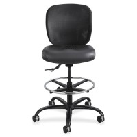 "Safco Heavy Duty Stool, 26"" x 26"" x 39"", Black Seat - Multiple options"