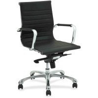 Lorell Modern Chair Series Mid-Back Chair