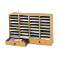 Safco Adjustable Organizer, 32 Compartments - Various Colors