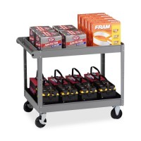 Tennsco 2 Shelf Service Carts - Multiple options