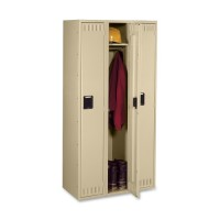 Tennsco Single Tier 3-Wide Steel Lockers - Various Colors