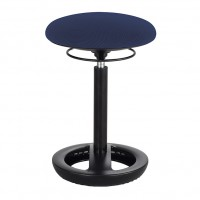 Blue Twixt® Active Seating Chair - Desk-Height - Safco Products 3000BU