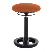 Orange Twixt® Active Seating Chair - Desk-Height - Safco Products 3000OR