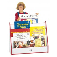 Jonti-Craft Rainbow Accents Big Book Pick-a-Book Stand - Mobile or Stationary in Multiple Colors