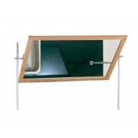 "Mirror for Mobile Demonstration Unit, 34½""W x 22½""H"