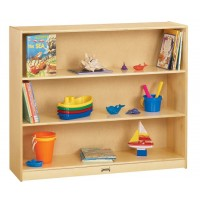 Jonti-Craft 4690JC Mega Mobile Straight-Shelf