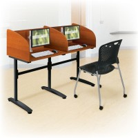 Balt Cherry Lumina Carrels - Starter and Add-On Carrels