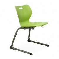 Artcobell Alphabet Series Cantilever Chairs - Various Colors and Sizes