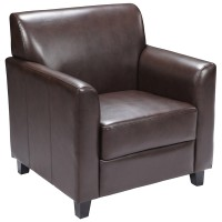 Signature Diplomat Series Brown Leather Chair
