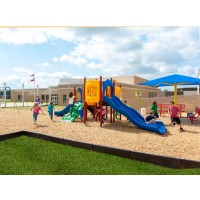 UPlayToday UPLAY-009-P Carson's Canyon Play Structure for Ages 2-5 or 5-12