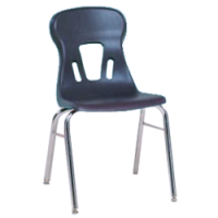 """Columbia Manufacturing 17.5"""" Seat Height Classic Comfort Chair - Navy"""
