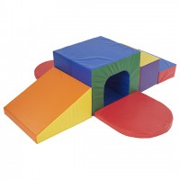 SoftZone® Single Tunnel Maze - ECR4KIDS - ELR-12652