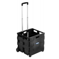 HamiltonBuhl Portable Crate with Extendable handle - EZCRATE