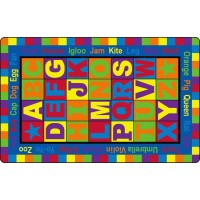 ABC Words Educational Rug