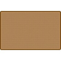 All-Over Weave in Tan Educational Rug