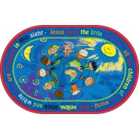 All the Little Children Faith-Based Rug