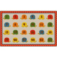 Counting Turtles Educational Rug