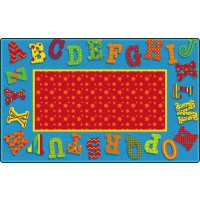 Dancing Alphabet Educational Rug