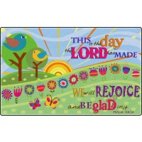 This is the Day the Lord Has Made Faith-Based Rug