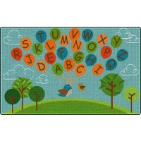 Fly Away ABC's Educational Rug