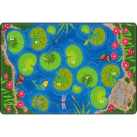 Hopscotch Pond Educational Rug