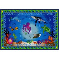 Into the Deep Educational Rug