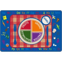 Pick-A-Plate Educational Rug