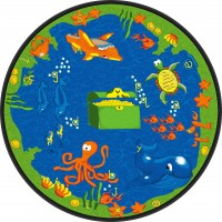 Sea Hunt Educational Rug