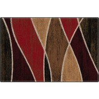 Waterford in Red Office Rug