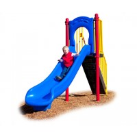 UPlayToday SLIDE-P Freestanding 4' Slide in Playful Colors