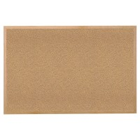 Ghent Wood Frame Natural Cork Tackboards - Multiple Sizes