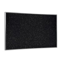 Ghent Aluminum Frame Recycled Rubber Tackboards - Multiple Sizes in Three Colors