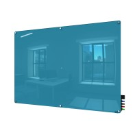 Ghent Harmony Colored Glass Boards - Radius Corners - 5 Sizes in 8 Colors