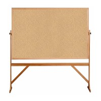 Ghent Wood Frame Reversible Natural Cork/Natural Cork - Two Sizes