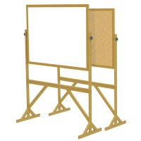 Ghent Wood Frame Reversible Acrylate Marker/Natural Cork - Two Sizes