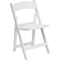 Signature Series 1000 lb. Capacity Resin Folding Chair - 4 Seat Options